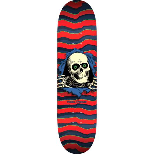 Powell Peralta Ripper Skateboard Blem Deck Red - Shape 243 - 8.25 x 31.95