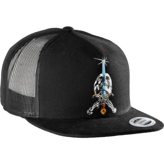 Powell Peralta SAS Trucker Cap  - Black
