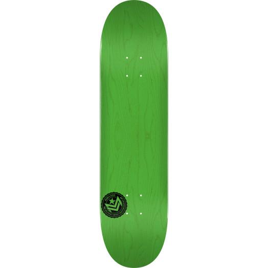 "MINI LOGO CHEVRON STAMP ""12"" SKATEBOARD DECK 248 GREEN - 8.25 X 31.95"