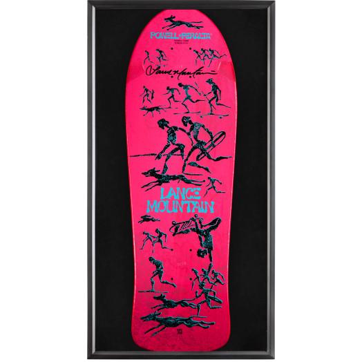 Bones Brigade® Shadowbox Mountain Blem Skateboard Deck Signed by Lance