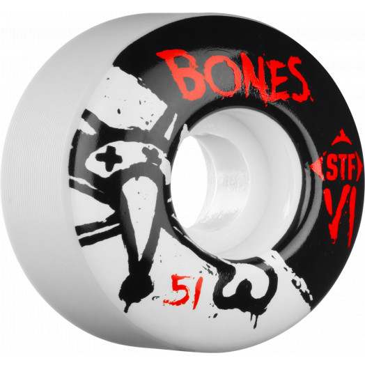 BONES STF V1 Series 51x30 Skateboard Wheel 83B 4pk