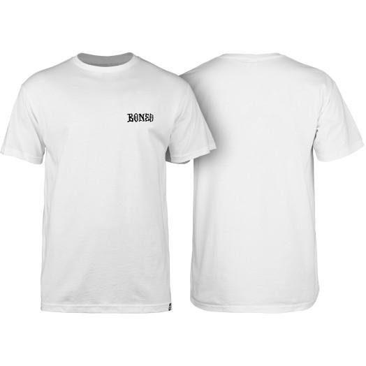 BONES WHEELS Micro T-shirt White