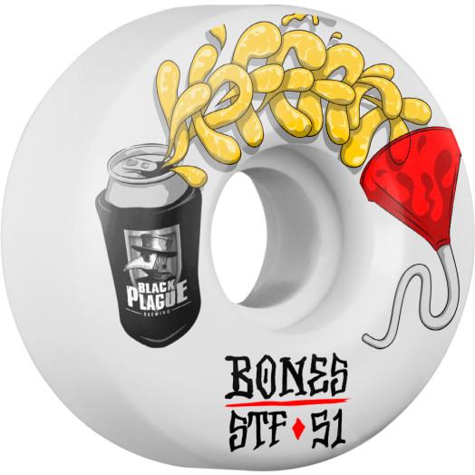 BONES WHEELS STF Pro Hoffart Beer Bong Skateboard Wheel V2 51mm 103A 4pk