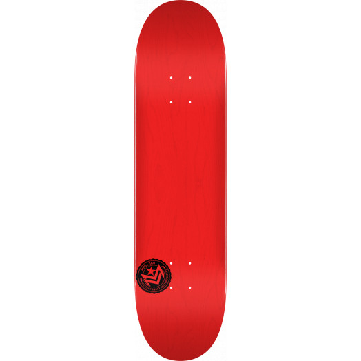 "MINI LOGO CHEVRON STAMP ""12"" SKATEBOARD DECK 248 RED - 8.25 X 31.95"