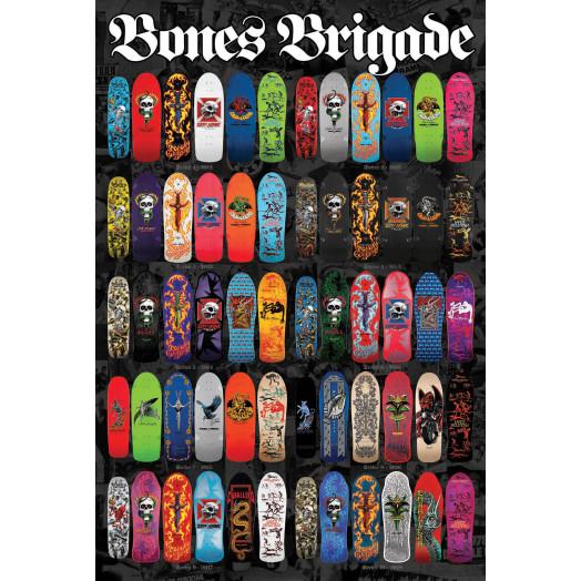 """Bones Brigade Deck Poster 2 36"""" x 24"""""""