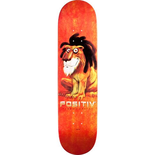 Positiv Fabrizio Lion Skateboard Deck - 8 x 32.125