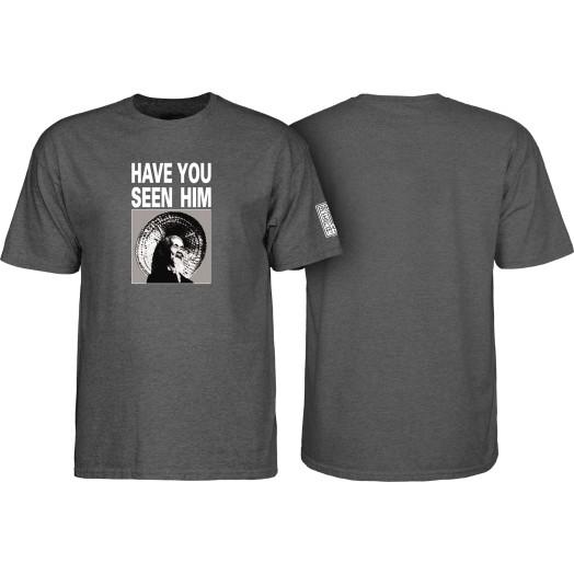 Powell Peralta Animal Chin T-shirt Charcoal