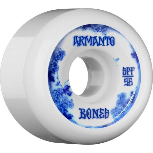 BONES WHEELS SPF Pro Armanto Blue China Skateboard Wheel P5 56mm 104A 4pk