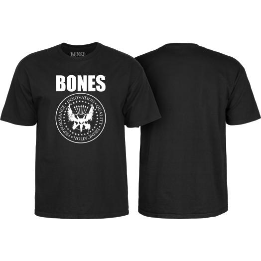 BONES WHEELS Joey T-shirt Black