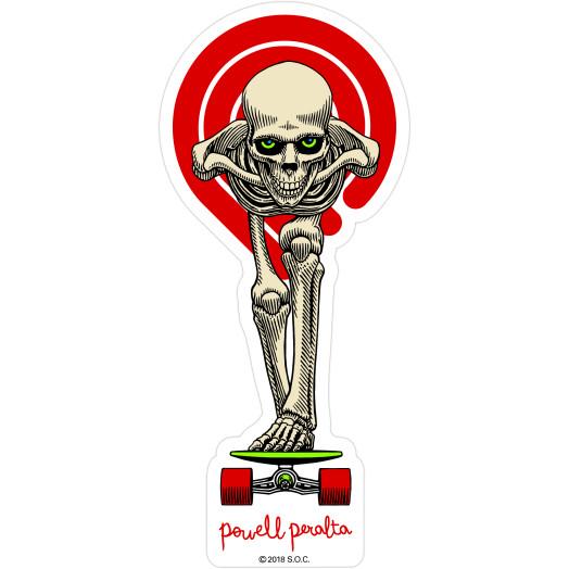 Powell Peralta Tucking Skeleton Sticker Single