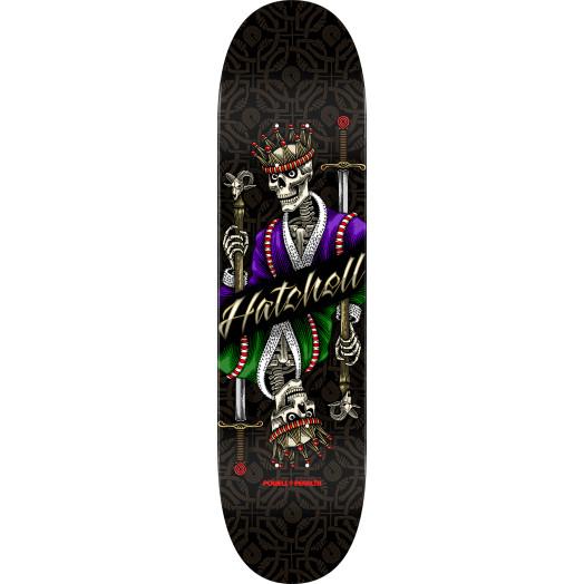 Powell Peralta Pro Ben Hatchell King Skateboard Deck - 8.25 x 31.95