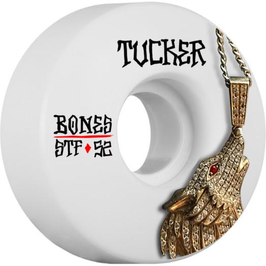 BONES WHEELS STF Pro Tucker Wolf Skateboard Wheel V1 52mm 103A 4pk