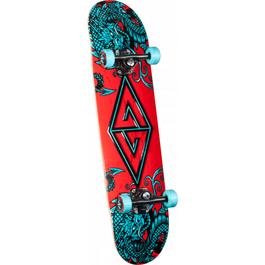 Powell Golden Dragon Two Dragons 2 Complete Skateboard - 7.88 x 31.67