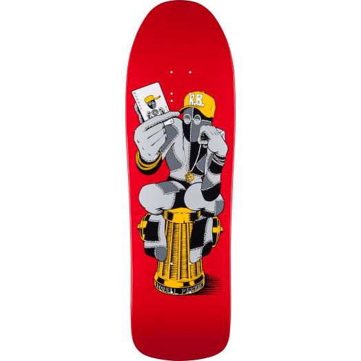 Powell Peralta Ray Barbee Hydrant Skateboard Deck - 9.7 x 31.92