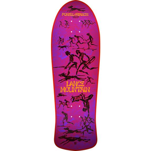 Bones Brigade® Lance Mountain 10th Series Reissue Skateboard Deck Red - 10 X 30.75