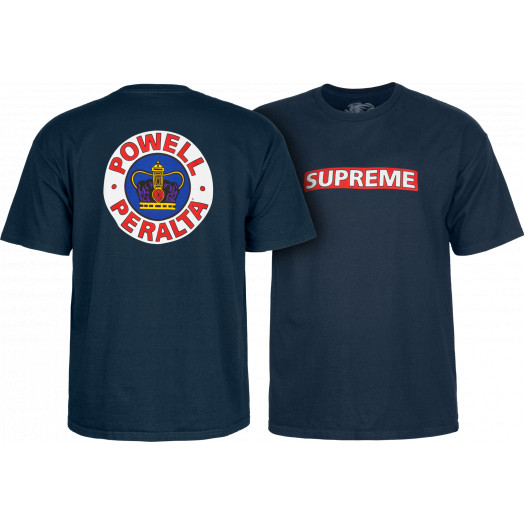 Powell Peralta Supreme Shirt Navy