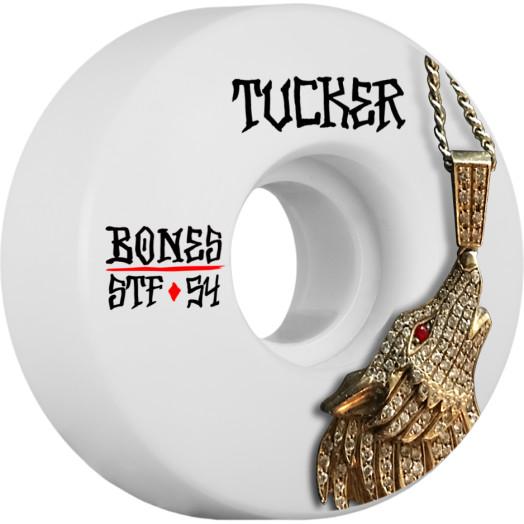 BONES WHEELS STF Pro Tucker Wolf Skateboard Wheel V1 54mm 103A 4pk