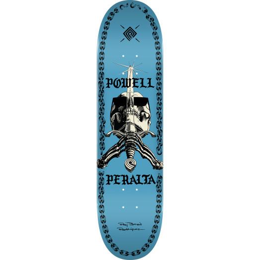 Powell Peralta SAS Chainz Skateboard Deck Blue - 8.5 x 32.08
