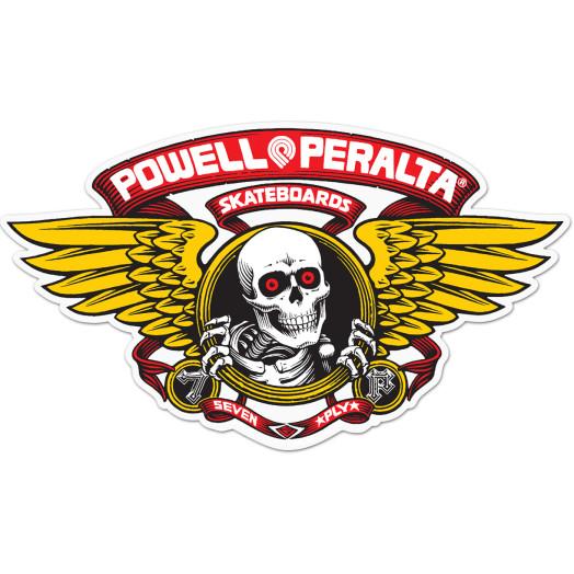 "Powell Peralta Winged Ripper 5"" Die-Cut Sticker 20pk - RED"