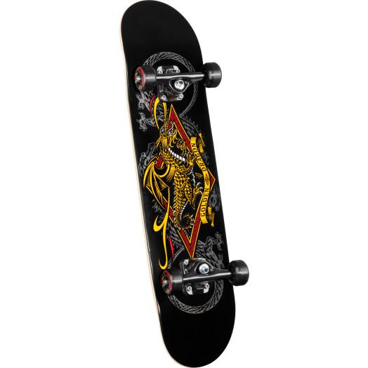 Powell Golden Dragon Diamond Dragon III Complete Skateboard - 7.375 x 29.4