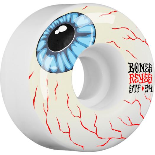 BONES WHEELS STF Pro Reyes Eyeball Skateboard Wheel V4 54mm 103A 4pk