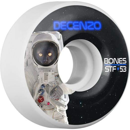 BONES WHEELS STF Pro Decenzo Catsrtonaught Skateboard Wheel V2 53mm 103A 4pk