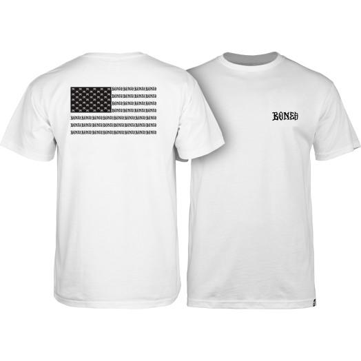 BONES WHEELS Pride T-shirt - White