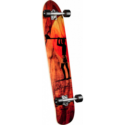 Surf One Robert August 5 Longboard Complete Skateboard - 9.25 x 43.75