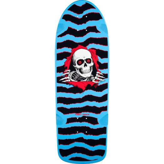 Powell Peralta OG Ripper Skateboard Blem Deck Blue - 10 x 30