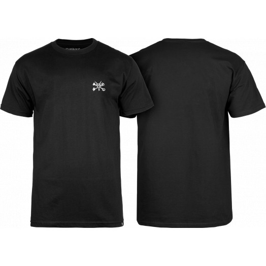 BONES WHEELS Mini Rat T-shirt Black