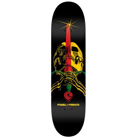 Powell Peralta LIGAMENT BL Skull & Sword 5 Skateboard Deck - 7.75 x 31.75