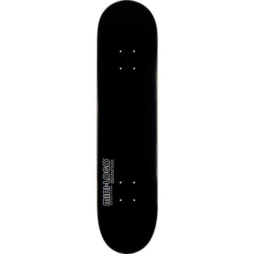 Mini Logo 124 K12 Skateboard Deck Black - 7.5 x 31.375