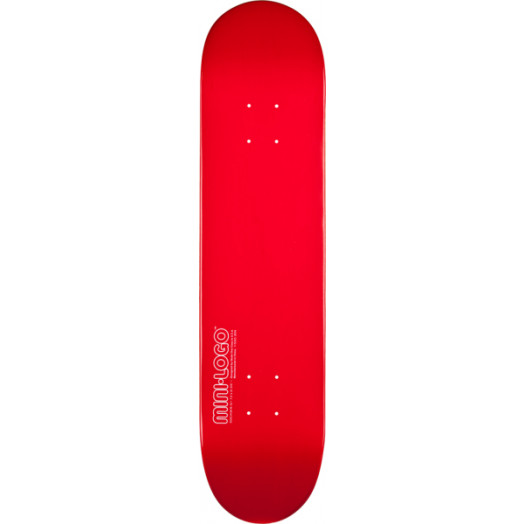 Mini Logo 127 K12 Skateboard Deck Red - 8 x 32.125