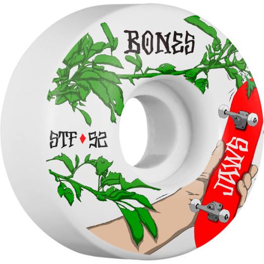 BONES WHEELS STF Pro Homoki Forbidden Skateboard Wheel V1 52mm 103A 4pk