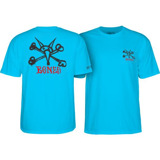 Powell Peralta Rat Bones Youth T-shirt Turqouise